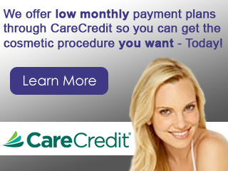 Financing Available through CareCredit